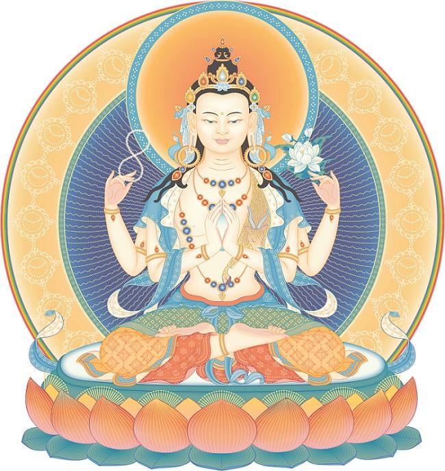 Buda da Compaixão Avalokiteshvara