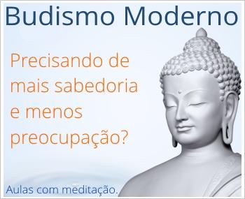A meditação budista e a paz interior.