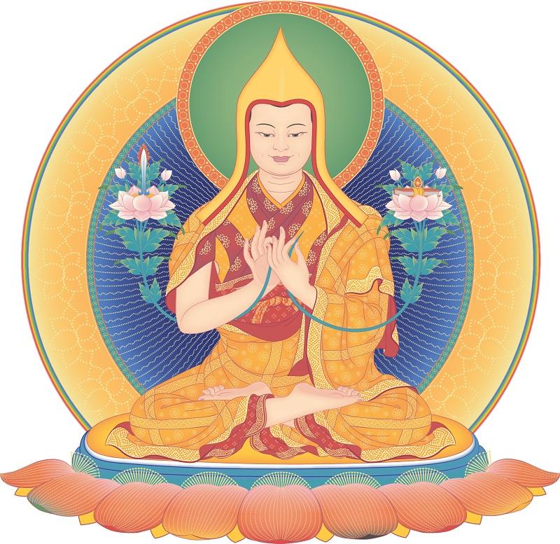Dia 25 de outubro é um dia auspicioso e muito especial em que lembramos a imensa bondade Je Tsongkhapa.